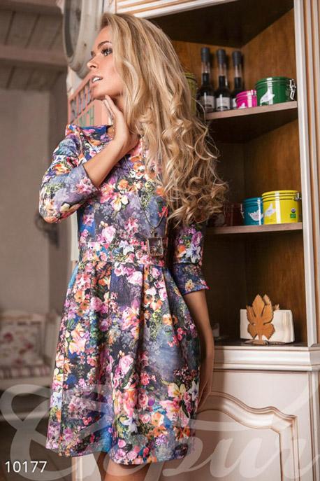 Розовое платье описание