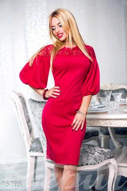 Роскошное женственное платье