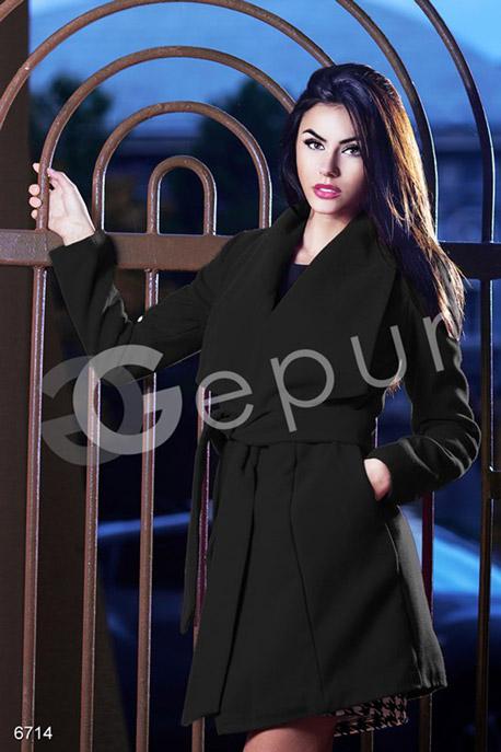 Пальто на запах купить в интернет-магазине в Москве, цена 1254.89 |Пальто-6714