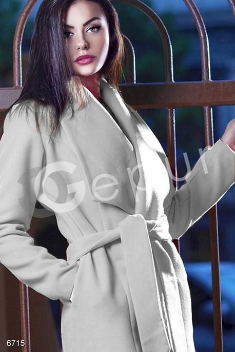 Пальто на запах купить в интернет-магазине в Москве, цена 1254.89 |Пальто-6715