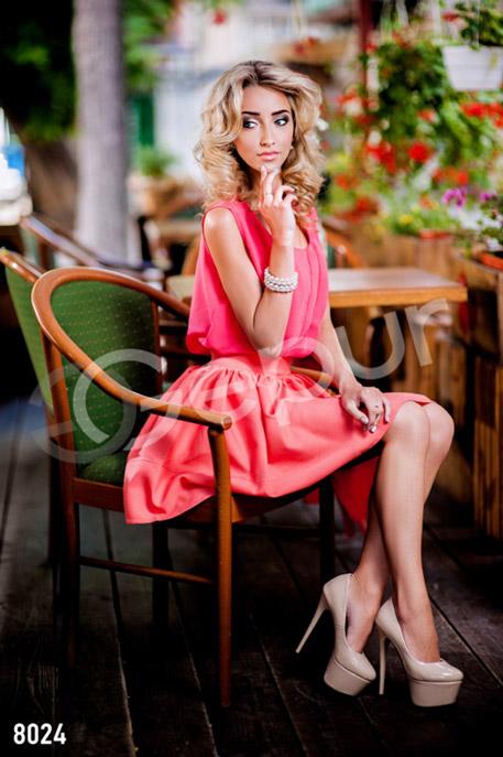 Купить Блузы, рубашки, Яркая шифоновая блузка, Блузка-8024, GEPUR, красный