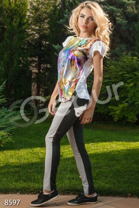 Комбинированные брюки доставка