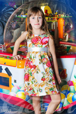 Colorful baby dress photo 1