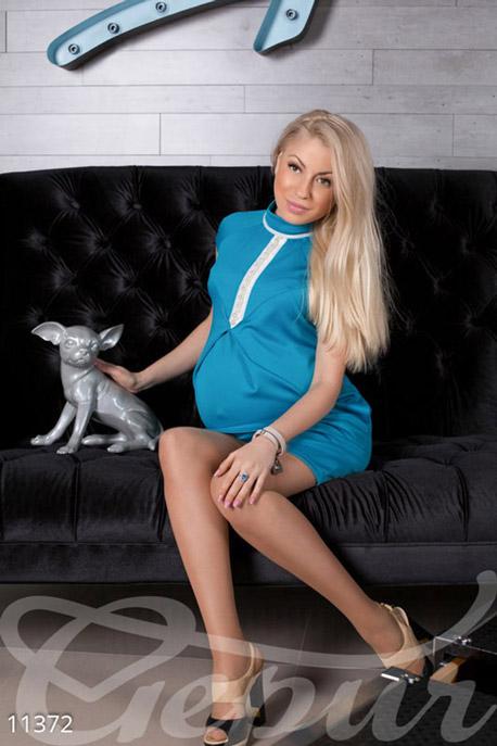 Голубое платье 9100 гепюр отзывы с фото