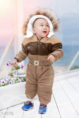 Warm baby jumpsuit photo 1