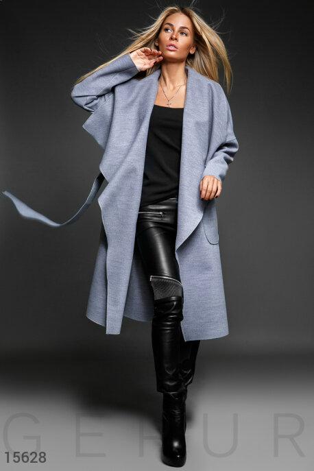 Стильное пальто oversize купить в интернет-магазине в Москве, цена 1416.73 |Пальто-15628