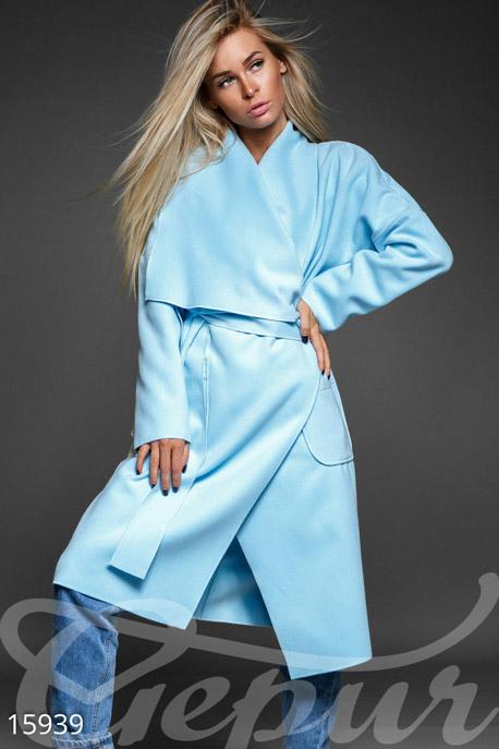 Стильное пальто oversize купить в интернет-магазине в Москве, цена 1369.82 |Пальто-15939