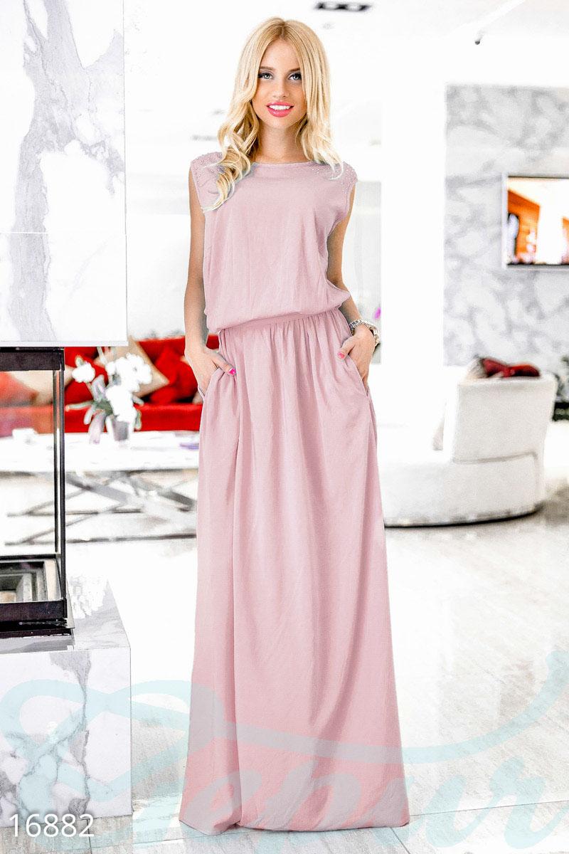 092533ee204 Ослепительное длинное платье