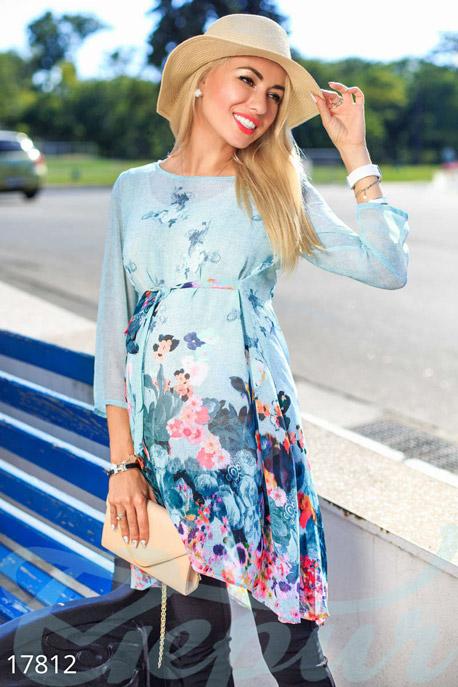 Купить Одежда для беременных / Блузы джемпера туники, Блуза для беременных, Блуза-17812, GEPUR, мультиколор