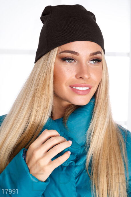 Базовая женская шапка