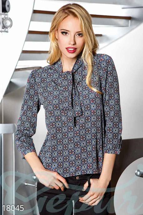 Купить Блузы, рубашки, Блуза геометрический принт, Блузка-18045, GEPUR, мультиколор