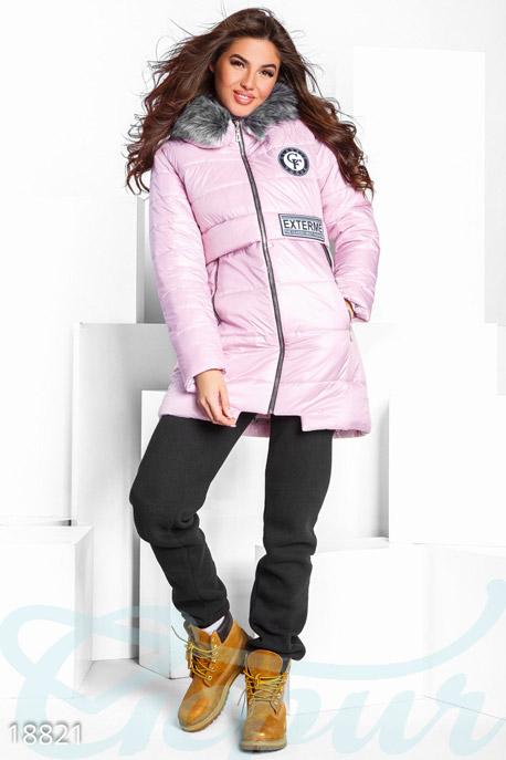 Теплая куртка с капюшоном GEPUR