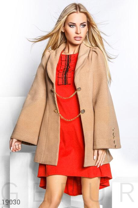 Оригинальное кашемировое пальто купить в интернет-магазине в Москве, цена 982.80 |Пальто-19030