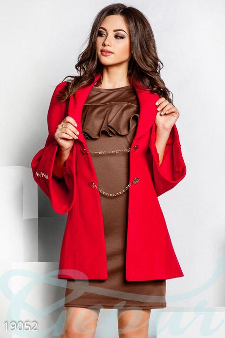 Оригинальное кашемировое пальто купить в интернет-магазине в Москве, цена 982.80 |Пальто-19052