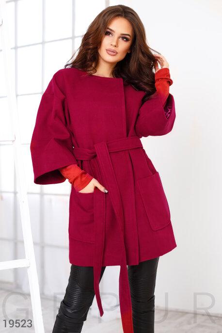 Кашемировое пальто оверсайз купить в интернет-магазине в Москве, цена 1501.17 |Пальто-19523