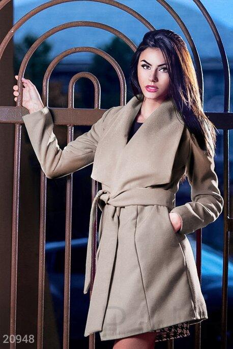Пальто с поясом GEPUR