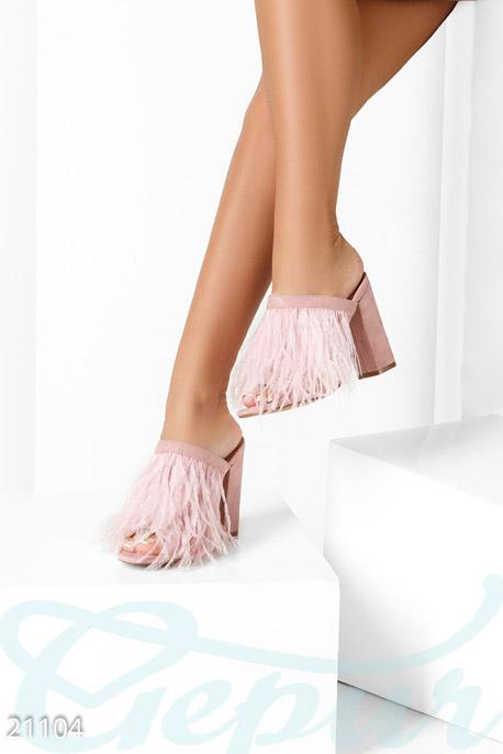 Модные туфли-мюли