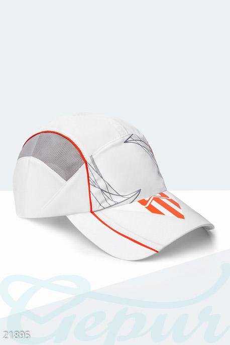 Купить Перчатки, шарфы, шапки / Кепки, Спортивная летняя бейсболка, Кепка-21895, GEPUR, бело-серый