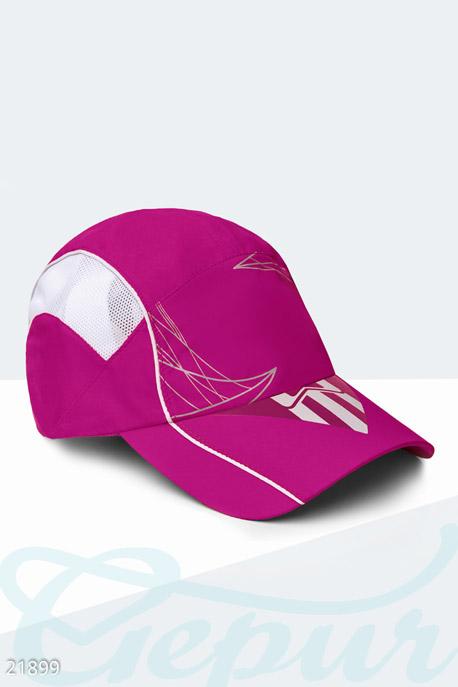 Купить Перчатки, шарфы, шапки / Кепки, Спортивная летняя бейсболка, Кепка-21899, GEPUR, ярко-малиновый