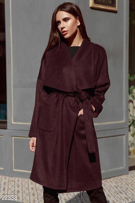 Стильное кашемировое пальто купить в интернет-магазине в Москве, цена 2308.06 |Пальто-22338