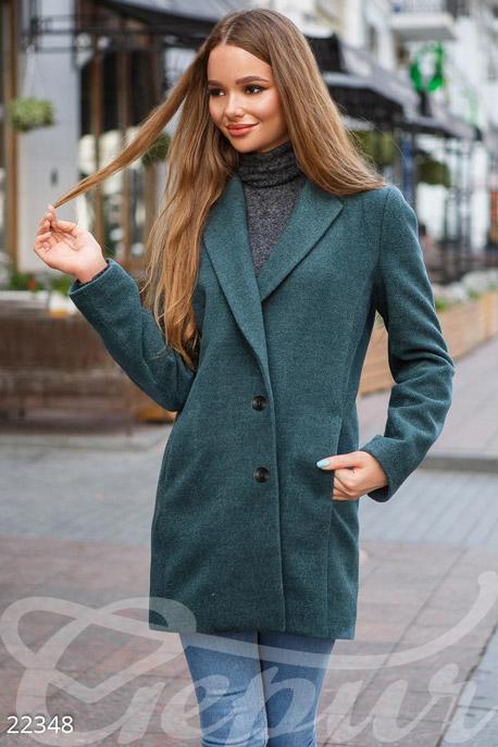 Однотонное кашемировое пальто GEPUR