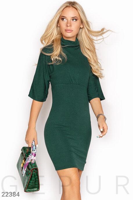 Купить Платья / Мини, Платье на осень, Платье-22384, GEPUR, зеленый