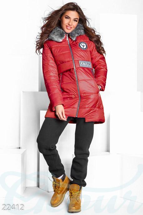 Зимняя куртка с мехом GEPUR