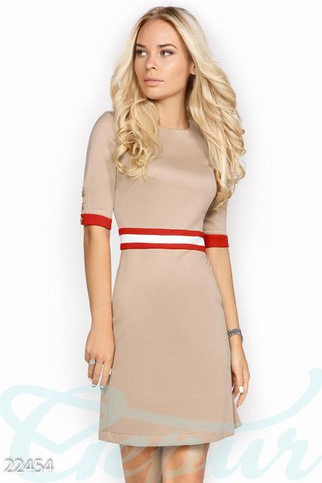 Лаконичное платье-трапеция GEPUR