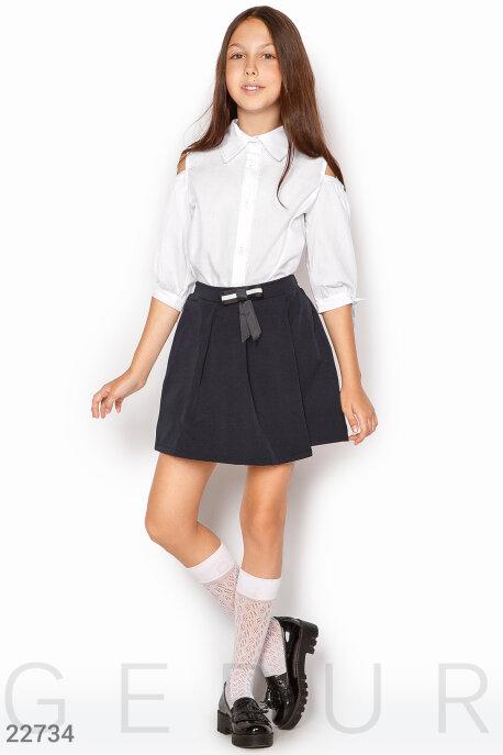 Купить Детская одежда, Школьная юбка-шорты, Юбка-22734, GEPUR, темно-синий