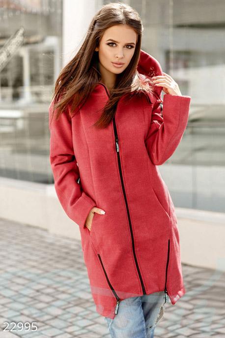 Трендовое демисезонное пальто купить в интернет-магазине в Москве, цена 2406.57 |Пальто-22995