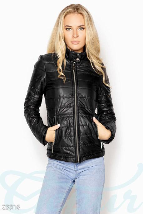 Купить Верхняя одежда / Ветровки, Удобная демисезонная куртка, Куртка-23316, GEPUR, черный