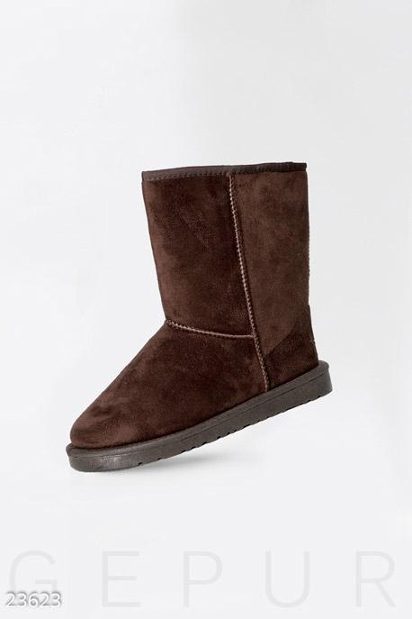 Обувь / Угги, Классические женские угги, Угги-23623, GEPUR, темно-коричневый  - купить со скидкой