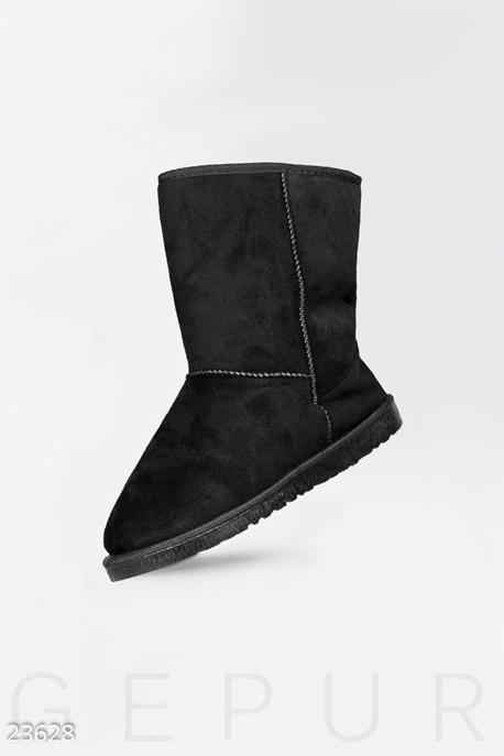 Купить Обувь / Угги, Классические женские угги, Угги-23628, GEPUR, черный