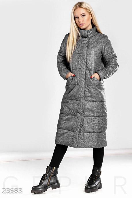 Теплое стеганое пальто GEPUR