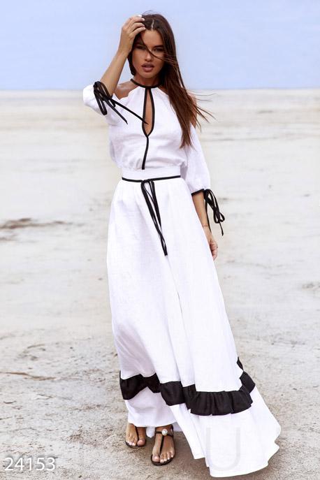 Купить Костюмы и комплекты / Низ юбка, Уникальный костюм Sadovskaya, Костюм-24153, GEPUR, бело-черный