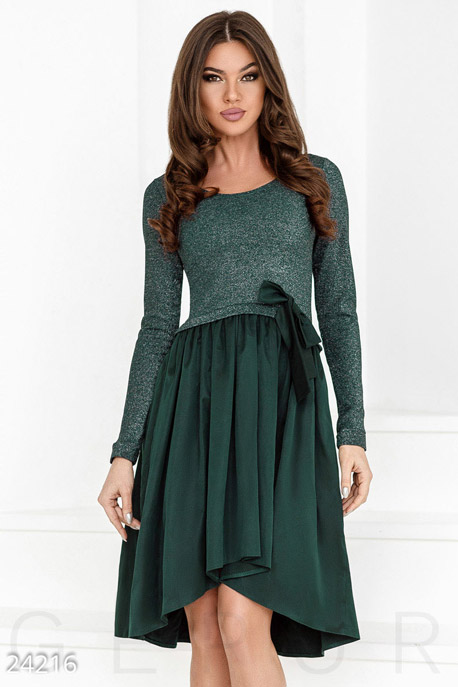 Вечернее платье с люрексом