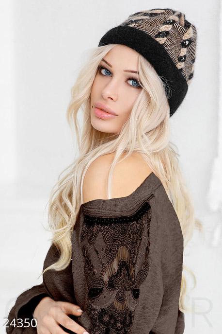 Женская ангоровая шапка, GEPUR
