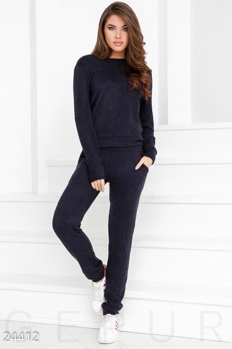 Купить Костюмы и комплекты / Низ брюки, Зимний прогулочный костюм, Костюм-24412, GEPUR, темно-синий