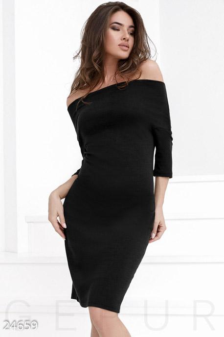 Стрейчевое платье джерси