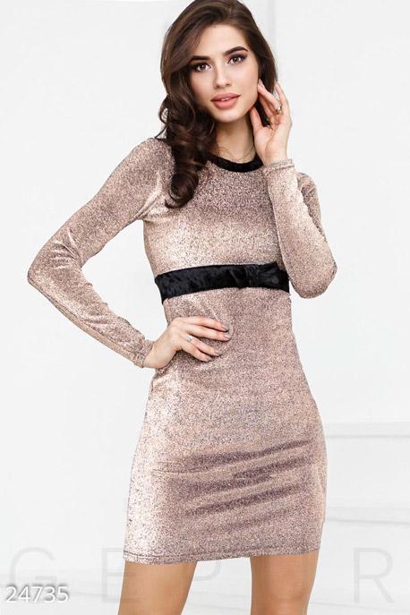 Облегающее платье с люрексом GEPUR