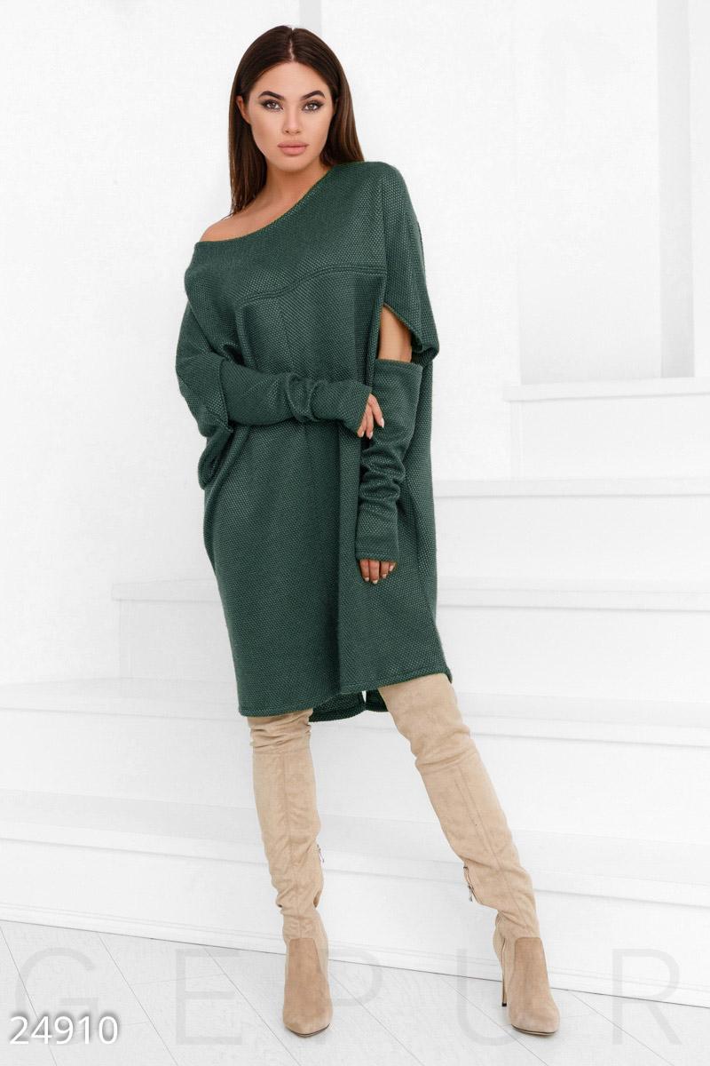 Теплое платье oversize 43$