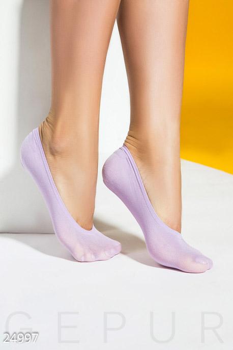 Купить Аксессуары / Носки, колготки, Женские носки-следки, Носки-24997, GEPUR, фиолетовый
