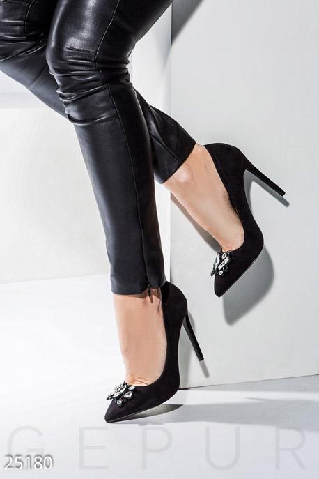 Купить Обувь / Туфли, Декорированные туфли-лодочки, Туфли-25180, GEPUR, черный