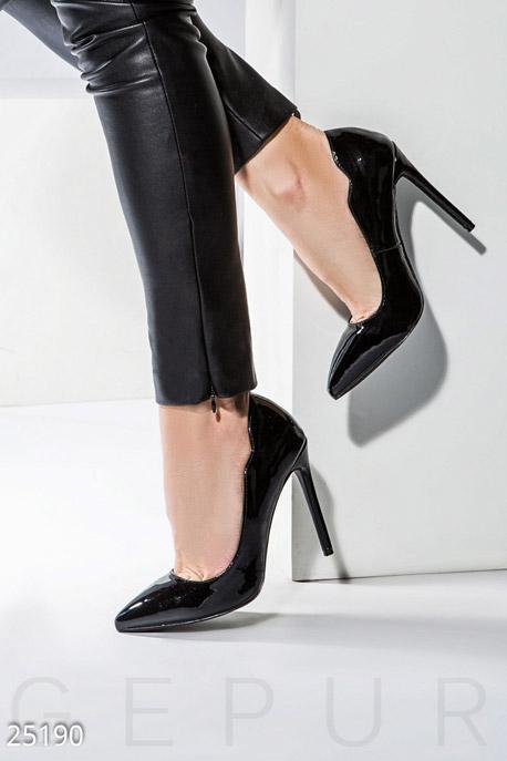 Купить Обувь / Туфли, Лаковые туфли-лодочки, Туфли-25190, GEPUR, черный