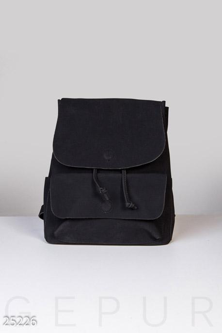 Сумки, клатчи, кошельки / Рюкзаки, Большой городской рюкзак, Рюкзак-25226, GEPUR, черный  - купить со скидкой