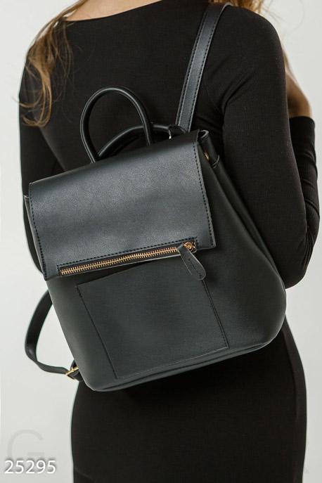 Купить Сумки, клатчи, кошельки / Рюкзаки, Стильный рюкзак-сумка, Рюкзак-25295, GEPUR, черный