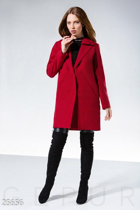Демисезонное кашемировое пальто GEPUR
