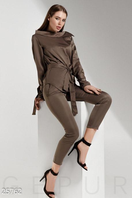 Женский коттоновый костюм