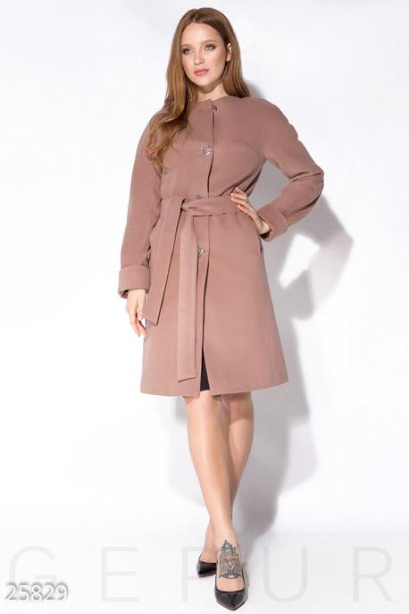 Лаконичное кашемировое пальто GEPUR