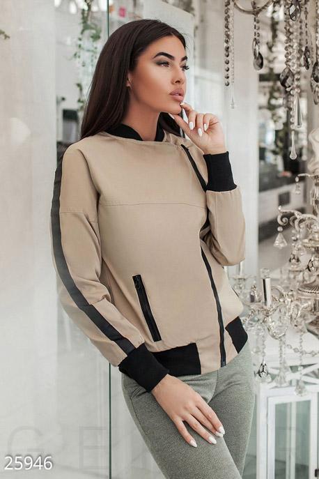 Купить Верхняя одежда / Ветровки, Женская куртка-ветровка, Куртка-25946, GEPUR, бежевый